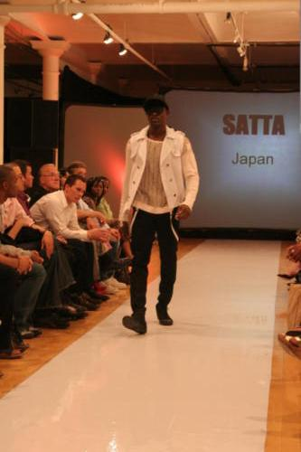 Satta Japanese Menswear Brand -  Design Collective NY - Runway -SoHo NYC